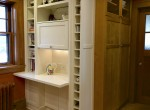 K pantry and desk